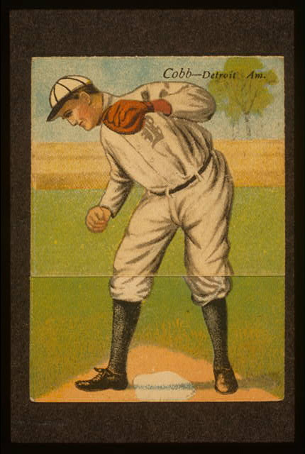 [Sam. Crawford/Tyrus R. Cobb, Detroit Tigers, baseball card portrait]
