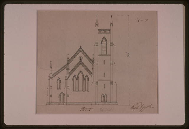 [Grace Church (Brooklyn, New York). Front elevation]