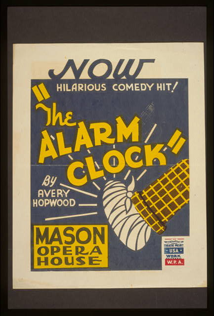 """The alarm clock"" by Avery Hopwood"