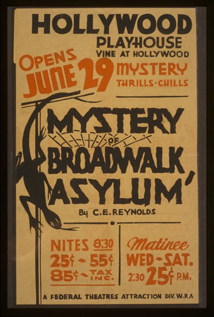 """Mystery of broadwalk asylum"" by C.E. Reynolds"