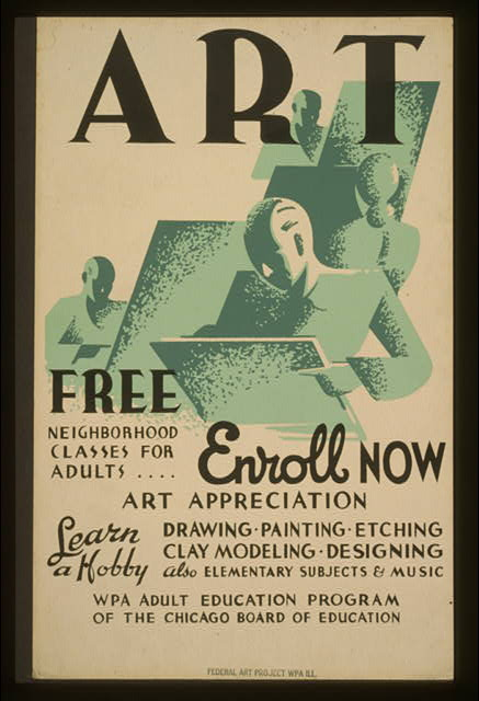 Art - Free neighborhood classes for adults ... enroll now