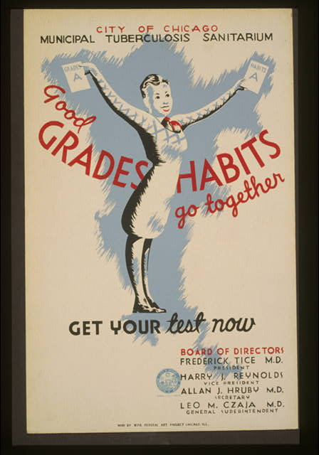 Good grades - Habits go together City of Chicago Municipal Tuberculosis Sanitarium : Get your test now.