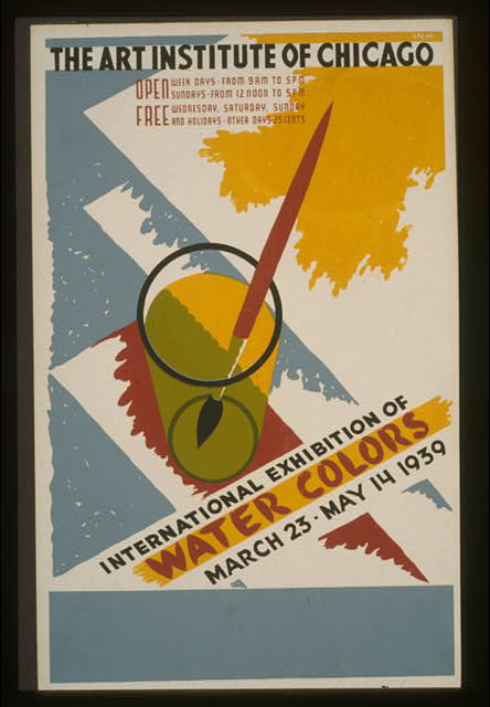 International exhibition of water colors The Art Institute of Chicago - March 23 - May 14 1939 /