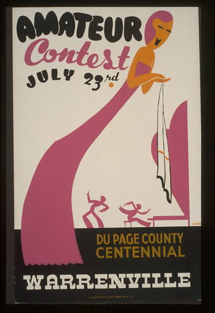 Amateur contest, July 23rd - Du Page County centennial, Warrenville
