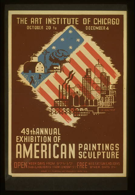 49th annual exhibition of American paintings sculpture