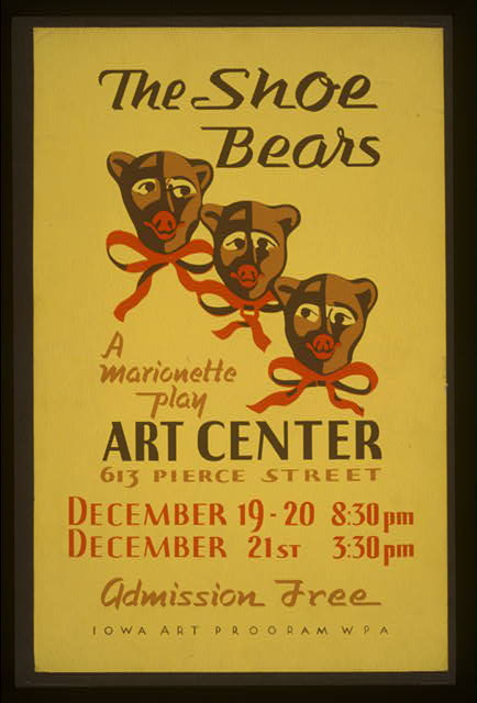 """The shoe bears"" A marionette play."