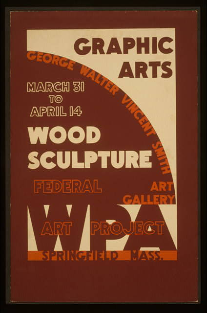 Graphic arts - wood sculpture, George Walter Vincent Smith Art Gallery, Springfield, Mass.