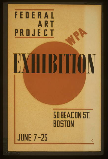 Exhibition - WPA Federal Art Project