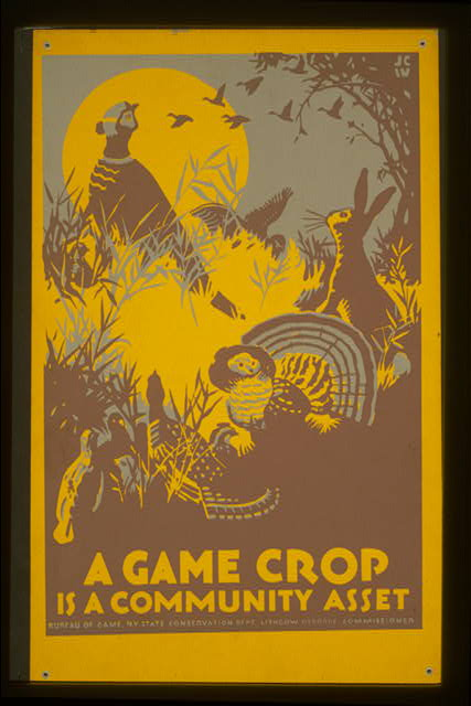 A game crop is a community asset