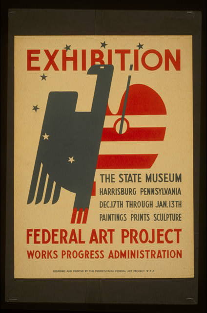 Exhibition The State Museum, Harrisburg, Pennsylvania : Paintings, prints, sculpture.