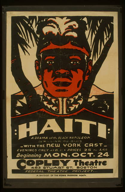 """Haiti"" A drama of the black Napoleon by William Du Bois : With the New York cast."