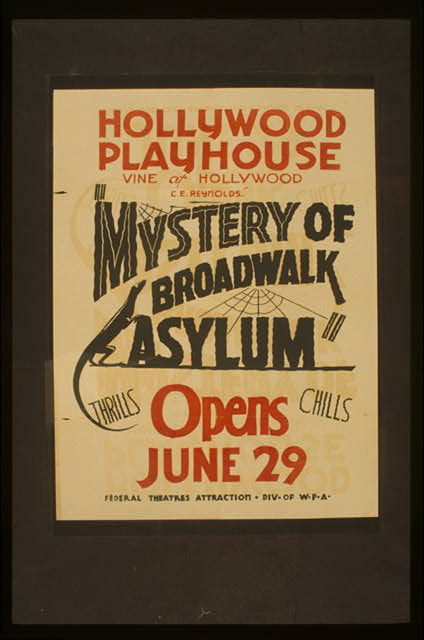 "C.E. Reynolds ""Mystery of broadwalk asylum"""