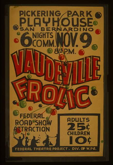 """""""Vaudeville frolic"""""""