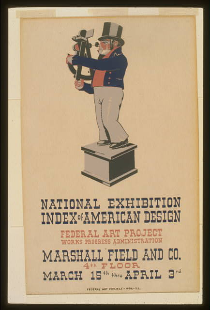 "National exhibition ""Index of American Design"""