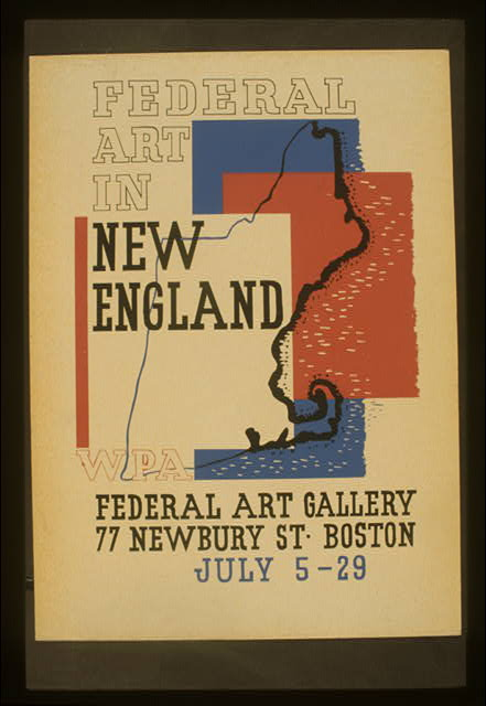 Federal art in New England