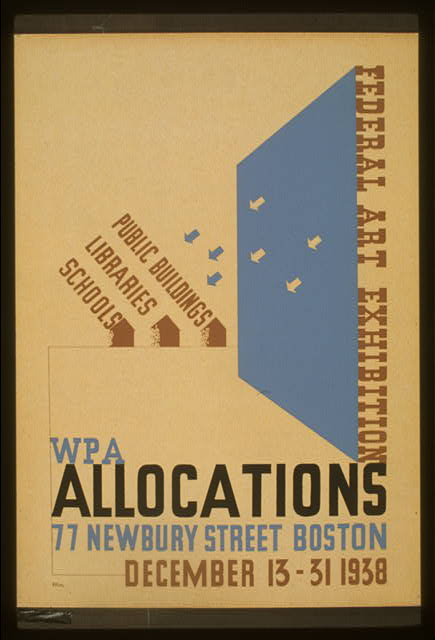 Federal Art exhibition WPA allocations /