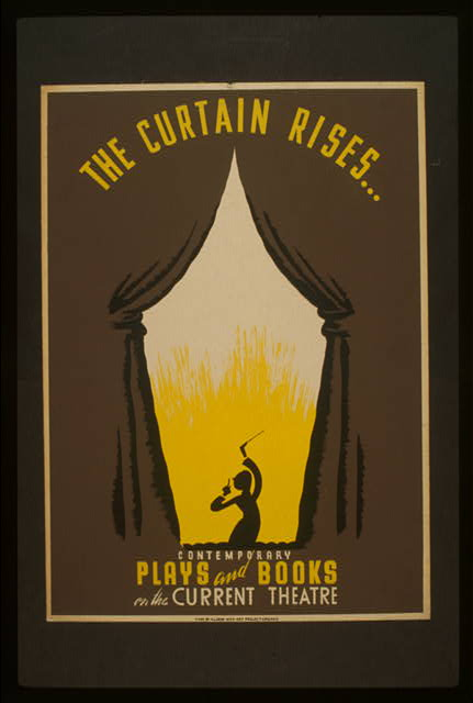 The curtain rises ... Contemporary plays and books on the Current Theatre.
