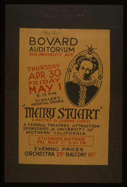 """Mary Stuart"" directed by Jerome Coray"
