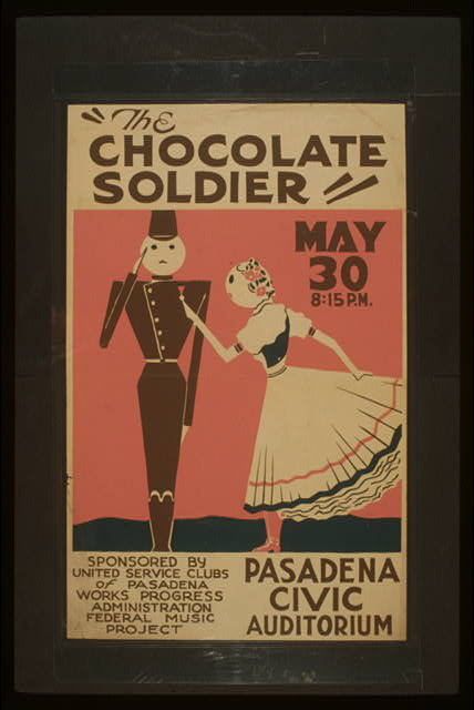 """The chocolate soldier"""