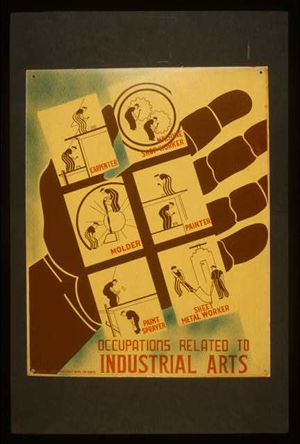 Occupations related to industrial arts