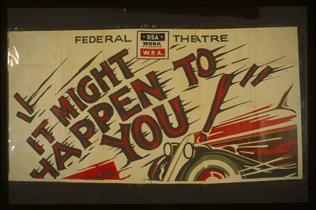 "Federal Theatre [presents] ""It might happen to you"" A drama in three acts by Leon Lord : The most powerful courtroom drama ever written."