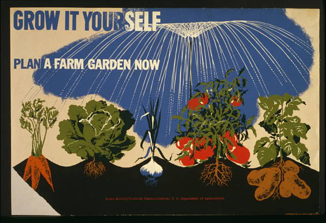 grow it yourself, plan a farm garden now