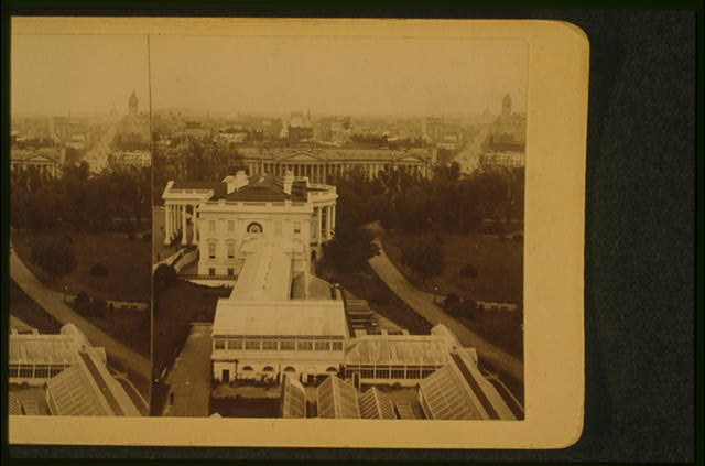 White House, U.S. Treasury & Penn. Ave., Washington, D.C.