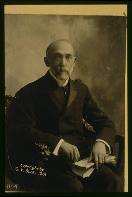 [Thomas C. Platt, three-quarter length portrait, seated in chair, facing front]