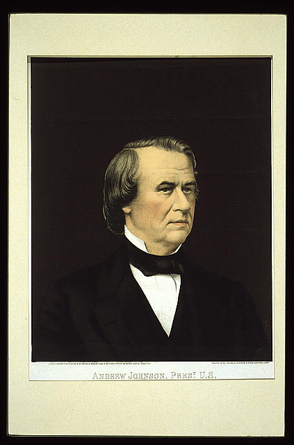 Andrew Johnson, Prest. U.S.