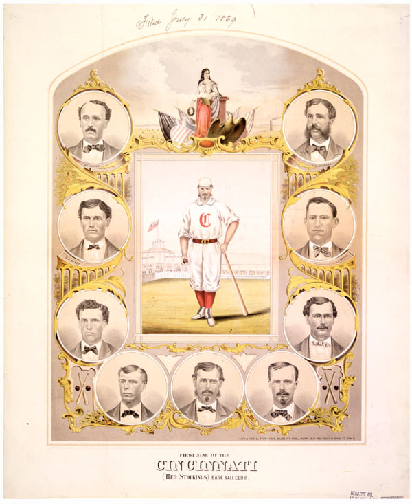 First Nine of the Cincinnati (Red Stockings) Base Ball Club