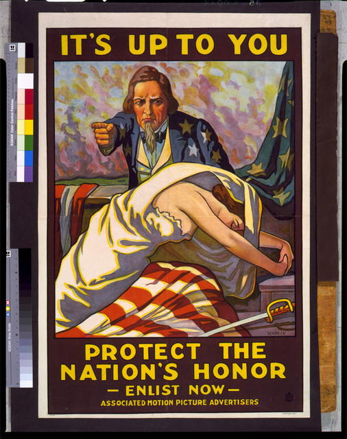 It's up to you--Protect the nation's honor, enlist now