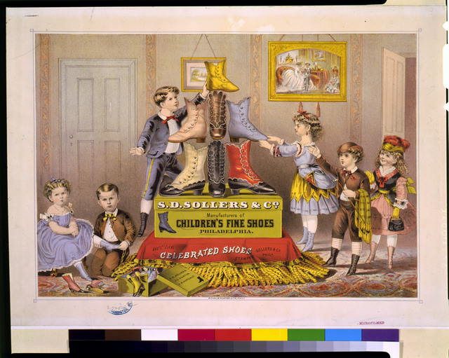 S.D. Sollers & Co. manufacturers of children's fine shoes, Philadelphia