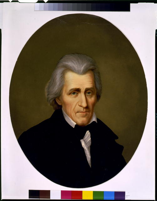 [Andrew Jackson, head-and-shoulders portrait, facing slightly right]