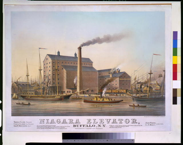 Niagara elevator, Buffalo, N.Y.