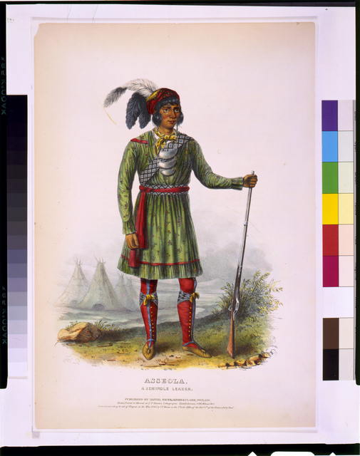 Asseola, a Seminole leader