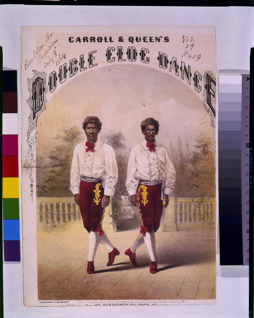 Carroll & Queen's double cloc dance