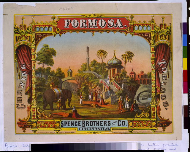 Formosa.  Chewing tobacco.  Spence Brothers and Co., Cincinnati, O.