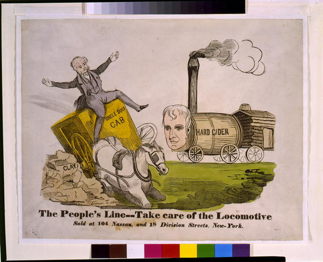 The people's line--Take care of the locomotive