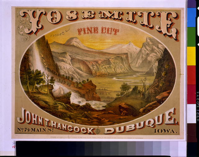 Yosemite. Fine cut. John T. Hancock, Dubuque, Iowa