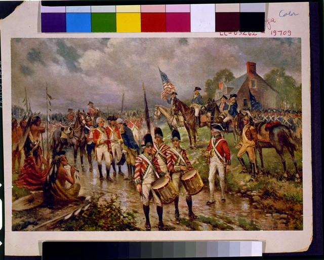 [Burgoyne's surrender at Saratoga]