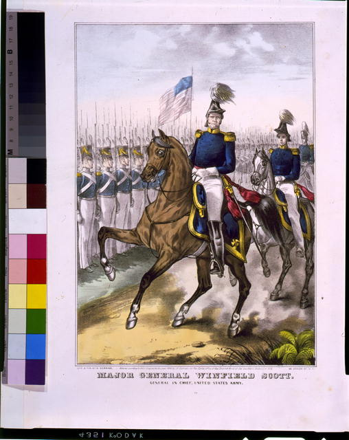 Major General Winfield Scott. General in chief, United States Army