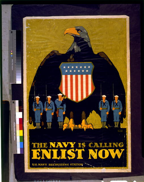 The Navy is calling--Enlist now