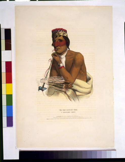 Wa-Em-Boesh-Kaa, a Chippeway chief