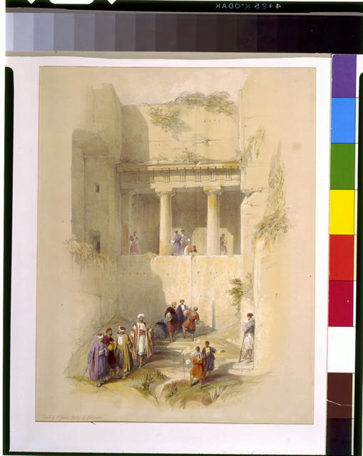 Tomb of St. James, Valley of Jehosaphat/Jerusalem April 1839