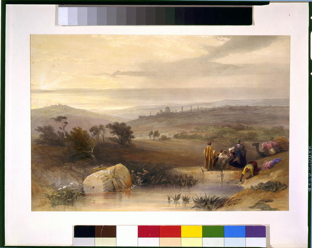 [Jerusalem from the North] Jerusalem April 1839