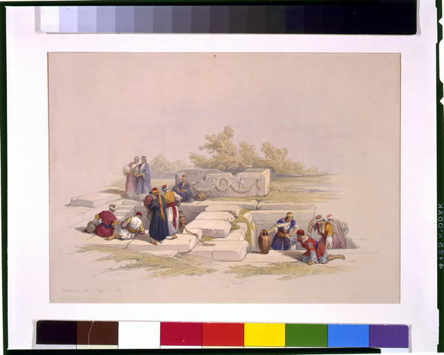 Fountain at Cana April 21st 1839