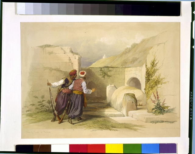 Tomb of Joseph at Shechem 1839