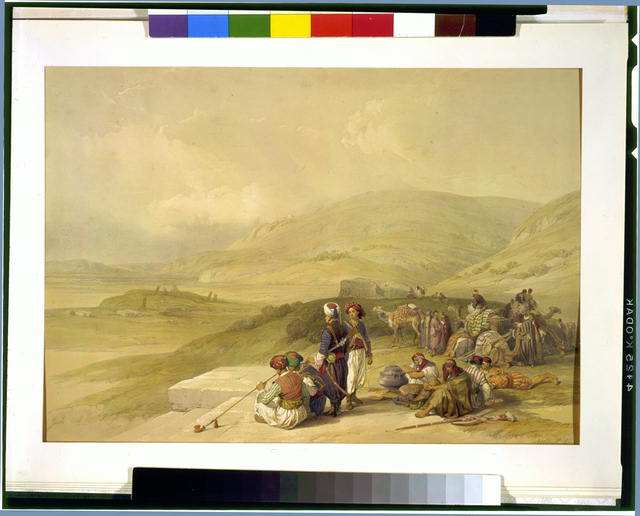Jacobs Well at Shechem April 17th 1839