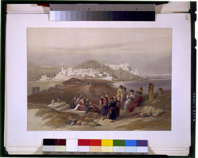 Jaffa ancient Joppa April 16th 1839