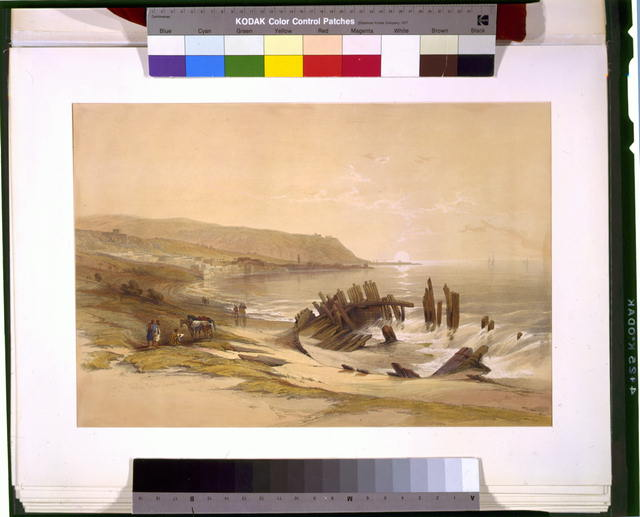 Caiphas looking towards Mount Carmel April 24th 1839